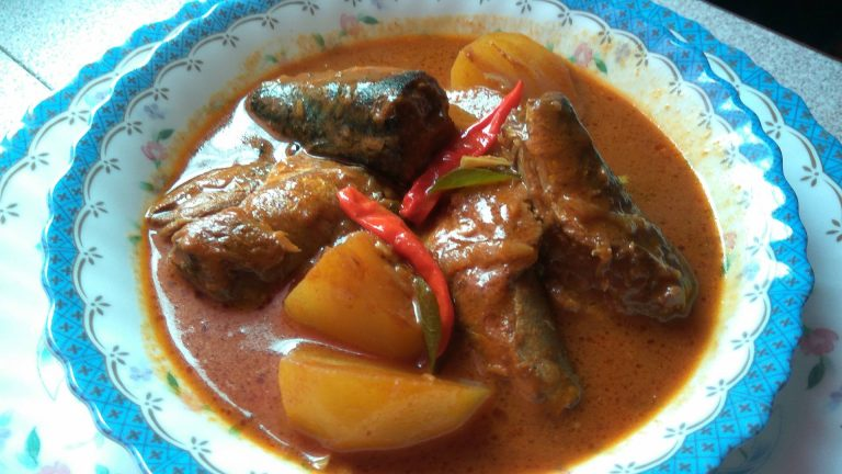 Resepi Gulai Ikan Sardin Tin Mackerel Chef At Home