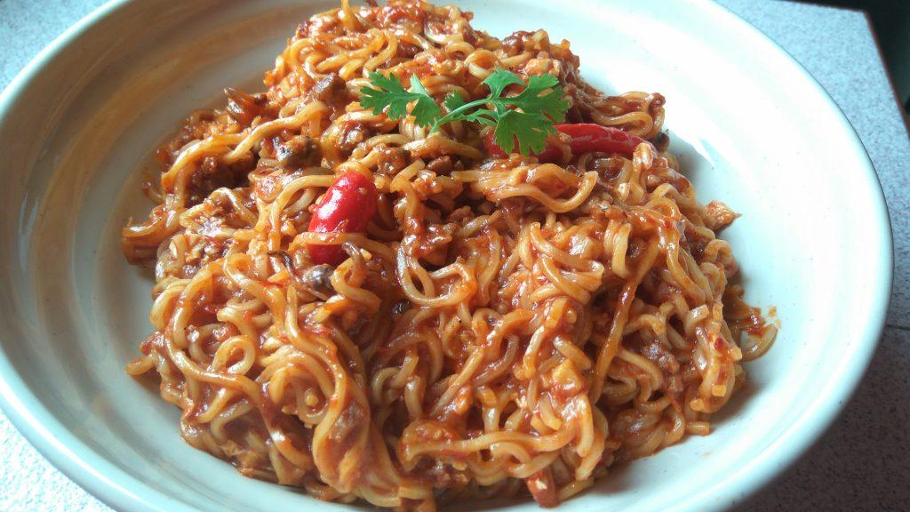 masak maggi kari sotong hans cooking recipes Resepi Maggi Goreng Udang Enak dan Mudah