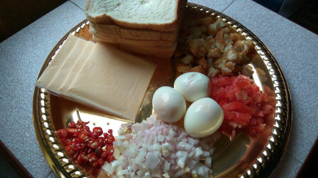 Resepi Sandwich Telur Terlajak Pedas Resepi Roti Jala