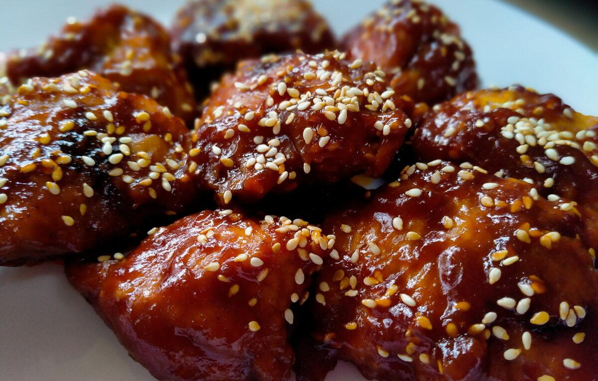 Ayam Goreng Pedas Sos Korea Adabi