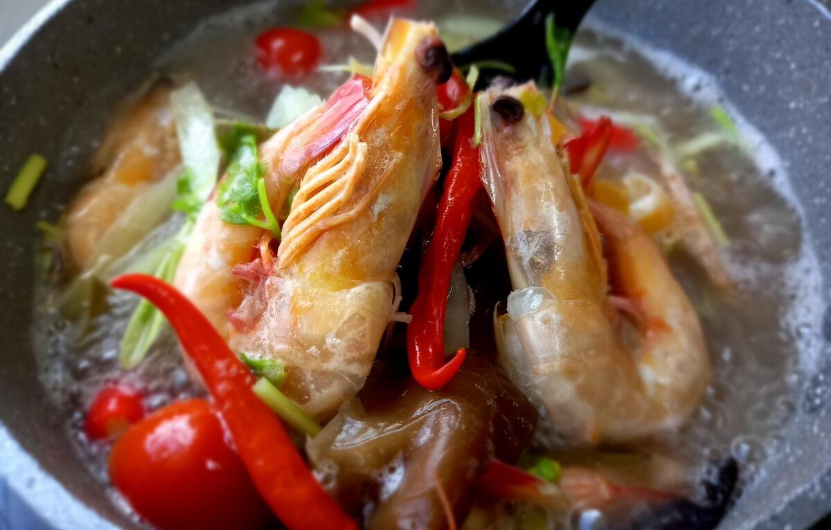 Resepi Tomyam Putih Ala Thai